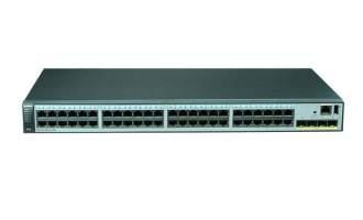 华为(HUAWEI)S5720-52X-LI-AC交换机 (48个10/100/1000Base-T以太网端口,4个万兆SFP+)