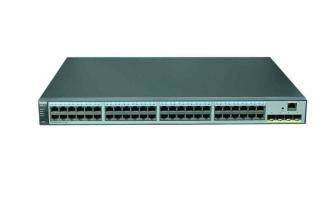 华为(HUAWEI)S5720SV2-52P-LI-AC交换机(48个10/100/1000Base-T以太网端口,4个千兆SFP,交流供电)