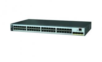 华为(HUAWEI)S5720S-52X-LI-AC交换机(48个10/100/1000Base-T以太网端口,4个万兆SFP+,交流供电)
