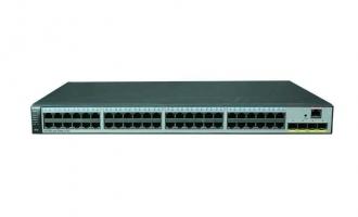 华为(HUAWEI)S5720S-52X-PWR-LI-AC交换机(48个10/100/1000Base-T以太网端口,4个万兆SFP+,PoE+,370W POE交流供电)