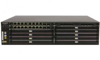 华为SVN5860安全接入网关-含华为通用安全平台软件(16GE电+8GE光+4*10GE光,16GB内存,2交流电源)