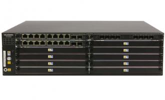 华为SVN5880安全接入网关-含华为通用安全平台软件(16GE电+8GE光+4*10GE光,16G内存,2交流电源)
