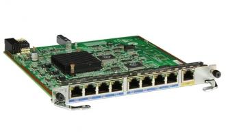 华为8FE1GE板卡-8端口百兆-RJ45+1端口千兆-RJ45-L2/L3以太网交换电接口卡(适用于华为AR1200/AR2200/AR3200路由器)