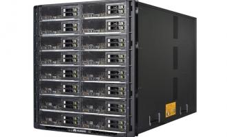 华为(HUAWEI)E9000机框 刀片箱(含6*2000W钛金交流电源, 2*管理模块, 14*风扇模块)