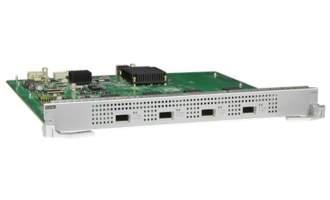 华为ET1D2X04XEA0板卡-4端口万兆以太网光接口板(EA,XFP)(适用于华为S12704/S12708/S12710/S12712交换机)