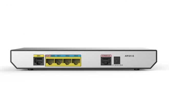 华为(HUAWEI)AR101-S路由器 企业路由器 1GE(WAN口),4GE(LAN口),网管路由器