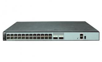 华为(HUAWEI)S6720S-26Q-LI-24S-AC交换机(24个万兆SFP+,2个40GE QSFP+,交流供电)