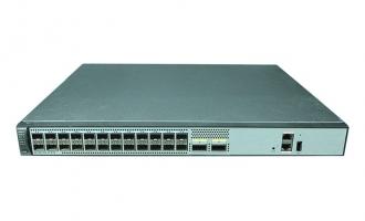 华为(HUAWEI)S6720S-26Q-SI-24S-AC交换机(24个万兆SFP+,2个40GE QSFP+,含1个150W交流电源)