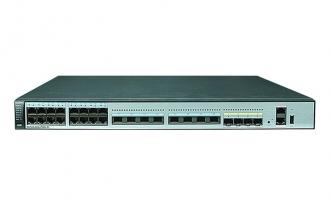 华为(HUAWEI)S6720-32C-PWH-SI-AC交换机(24个100M/1/2.5/5/10G以太网端口,4个万兆SFP+,PoE++,单子卡槽位)