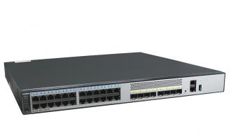 华为(HUAWEI)S5730-48C-PWR-SI-AC交换机(24个10/100/1000Base-T以太网端口,8个万兆SFP+) POE供电交换机