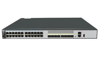 华为(HUAWEI)S5730-48C-SI-AC交换机(24个10/100/1000Base-T以太网端口,8个万兆SFP+)