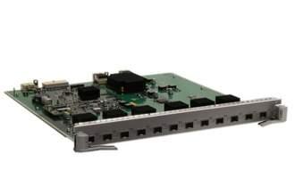 华为板卡ES0D0X12SA00-12端口万兆以太网光接口板(SA,SFP+)(华为S7700系列使用)