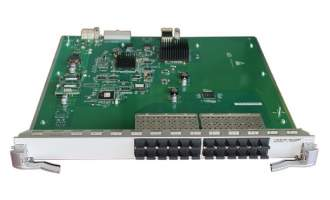 华为板卡LE0MG24SA-24端口百兆/千兆以太网光接口板(SA,SFP)(华为S9300系列使用)