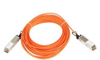 华为(HUAWEI)QSFP-100G-AOC10M有源高速线缆(可用于传输或堆叠)