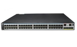 华为交换机S5730S-68C-EI-AC(48个千兆以太网端口,4个万兆SFP+,单子卡槽位,含1个150W交流电源)
