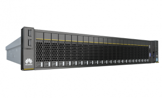 华为(HUAWEI)2488V5服务器(8*2.5″盘位机型)典配(8HDD机型,2*5118 CPU,2*16GB DDR4内存,1*2.5″ 600GB SAS 硬盘,AVAGO3508 RAID0/1/5/50 2G Cache,2*GE电口+2*10GE光口,2*1500W电源,无光驱,有滑轨)