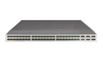 华为(HUAWEI)CE6850-48S6Q-HI数据中心交换机(48*万兆SFP+,6*40G QSFP+,,2*交流电源,2*风机盒,端口侧出风)