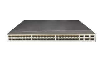 华为(HUAWEI)CE6850U-48S6Q-HI数据中心交换机(48*万兆SFP+/FC,6*40G QSFP+,2*交流电源,端口侧出风)