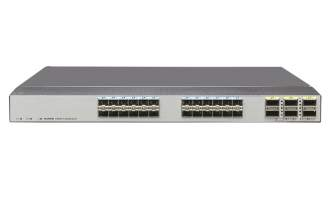 华为(HUAWEI)CE6870-24S6CQ-EI数据中心交换机(24*万兆SFP+,6*100G QSFP28,2*交流电源,端口侧出风)