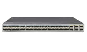 华为(HUAWEI)CE6870-48S6CQ-EI数据中心交换机(48*万兆SFP+,6*100G QSFP28,2*交流电源,端口侧出风)