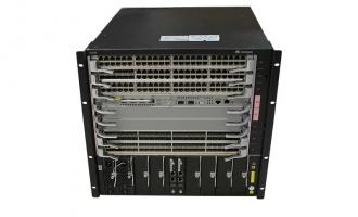 华为(HUAWEI)S7908交换机 基本引擎交流组合配置(含一体化非PoE总装机箱,SRUF主控板*2,800W交流电源*2,基本软件*1)