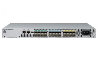 华为(HUAWEI)OceanStor SNS2624光纤交换机-32Gb FC交换机-24端口(24端口激活,含24*16Gb多模SFP)-单电源(交流)-含企业级特性包