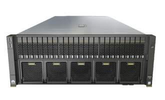 华为5885H V5服务器(25盘位机型)(2*5115 CPU,2*32GB内存,无硬盘,AVAGO3508阵列卡,2*1500W电源,无光驱,有滑轨)