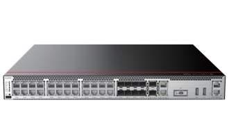 华为USG6306E-AC防火墙(2*GE WAN+8*GE Combo+16*GE RJ45+2*10GE SFP+,含SSL VPN 100用户) AI防火墙
