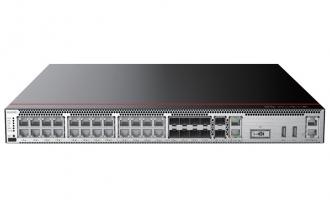 华为USG6332E-AC防火墙(2*GE WAN+8*GE Combo+16*GE RJ45+2*10GE SFP+,含SSL VPN 100用户) AI防火墙