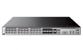 华为USG6580E-AC防火墙(2*GE WAN+8*GE Combo+16*GE RJ45+2*10GE SFP+,1交流电源,含SSL VPN 100用户)AI防火墙