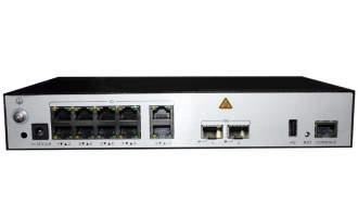 华为AC6508接入控制器(10个千兆以太口,2个万兆SFP+,含AC/DC 电源适配器)  AC控制器