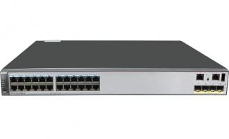 华为(HUAWEI)S5730-36C-PWH-HI交换机(24个10/100/1000Base-T以太网端口,4个万兆SFP+,单子卡槽位,PoE++) POE交换机