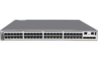 华为(HUAWEI)S5730-60C-PWH-HI交换机(48个10/100/1000Base-T以太网端口,4个万兆SFP+,单子卡槽位,PoE++)  POE供电交换机