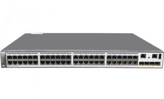华为(HUAWEI)S5730-68C-PWH-HI交换机(48个10/100/1000Base-T以太网端口,4个万兆SFP+,双子卡槽位,PoE++)  POE供电交换机