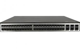 华为CE6863-48S6CQ-B数据中心交换机(48*25G SFP28,6*100G QSFP28,2*交流电源,端口侧进风)