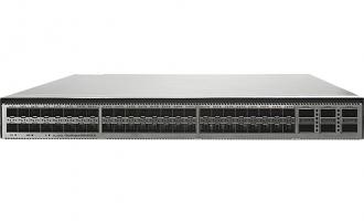华为CE6881-48S6CQ-F数据中心交换机(48*万兆SFP+,6*100G QSFP28,2*交流电源,端口侧出风)