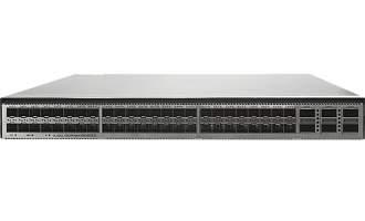 华为CE6881-48S6CQ-B数据中心交换机(48*万兆SFP+,6*100G QSFP28,2*交流电源,端口侧进风)