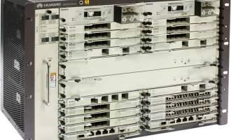 华为NE20E-S16路由器交流基本配置(含NE20E-S16机箱/双主控MPUE1/双交流电源/电源线,不含软件费用和资料)