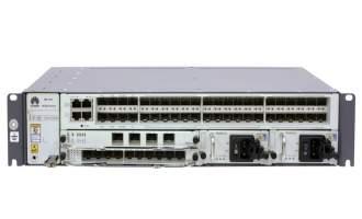 华为NE20E-S2F路由器(含NE20E-S2F机框,固定4*10GE-SFP+和40*GE-SFP接口/双交流电源/风扇单元/电源线,不含软件费用和资料)