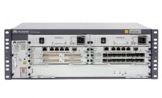 华为NE20E-S4路由器交流基本配置(含NE20E-S4机箱/双主控MPUE1/双交流电源/电源线,不含软件费用和资料)