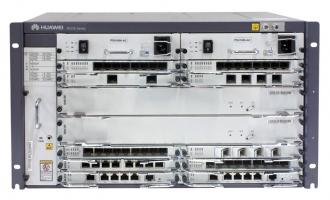 华为NE20E-S8路由器交流基本配置(含NE20E-S8机箱/双主控MPUE1/双交流电源/电源线,不含软件费用和资料)