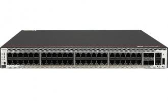 华为S5731S-S48T4X-A交换机(48个10/100/1000BASE-T以太网端口,4个万兆SFP+,含1个600W交流电源)
