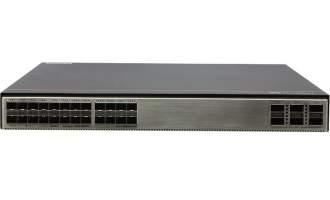 华为S5732-H24S6Q交换机(20个千兆SFP,4个万兆SFP+,6个40GE QSFP,不含电源)