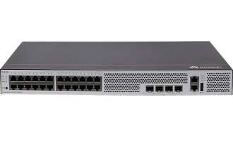 华为S5735-L24T4S-A交换机(24个10/100/1000BASE-T以太网端口,4个千兆SFP,交流供电)