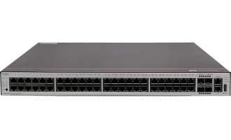 华为交换机S5735S-L48P4S-A1(48个10/100/1000BASE-T以太网端口,4个千兆SFP,PoE+,交流供电)