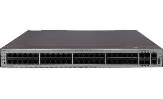 华为S5735-L48P4X-A交换机(48个10/100/1000BASE-T以太网端口,4个万兆SFP+,PoE+,含1个1000W交流电源)