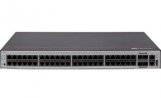 华为S5735S-L48T4S-A交换机(48个10/100/1000BASE-T以太网端口,4个千兆SFP,交流供电)