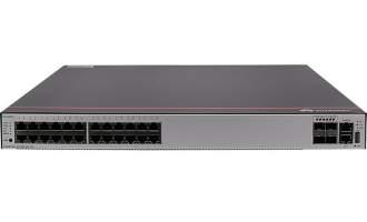 华为S5735S-S24T4S-A交换机(24个10/100/1000BASE-T以太网端口,4个千兆SFP,含1个60W交流电源)