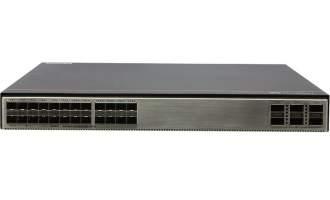 华为S6730S-S24X6Q-A交换机(24个万兆SFP+,6个40GE QSFP,含1个600W交流电源)