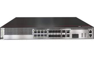 华为USG6305E防火墙(2*GE WAN+8*GE Combo+2*10GE SFP+,1交流电源,含SSL VPN 100用户)AI防火墙